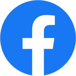 This picture shows the logo of facebook.