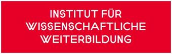 red box with white letters: Institute for further education