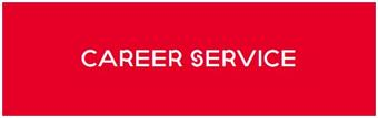 red box with white letters: Career Service