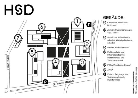 map of campus