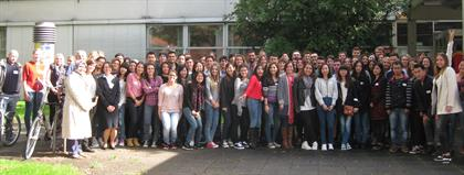 100 Exchange students from all over the world at Hochschule Düsseldorf - University of Applied Sciences