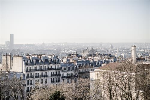 View over the rooftops of Paris.