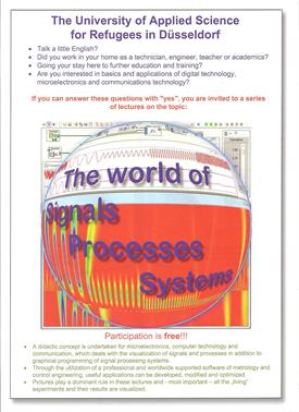 Description - Course for refugees - Signals Processes Systems