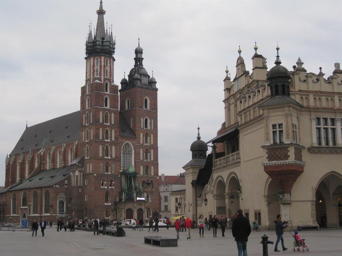 Marketplace in Cracow