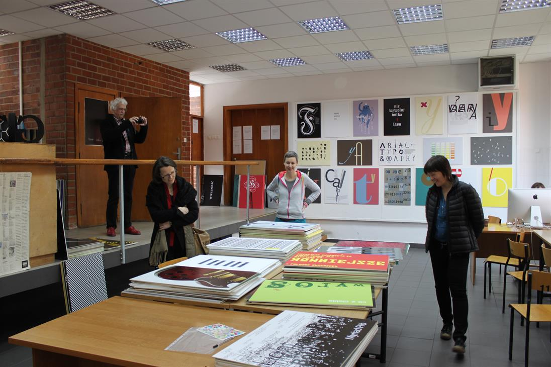Studio for Basics of Graphic Design in Lodz